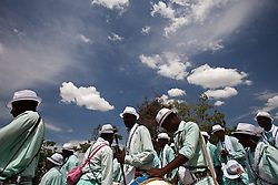 Members of a visitor Congo also attend the Feast of Our Lady of the Rosary in Arturos community in the state of Minas Gerais, central Brazil.