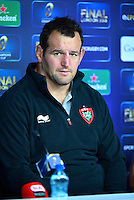 Carl HAYMAN - 01.05.2015 - Conference de presse Toulon avant la finale - European Rugby Champions Cup -Twickenham -Londres<br /> Photo : David Winter / Icon Sport