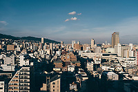A cityscape of Kobe, Japan.