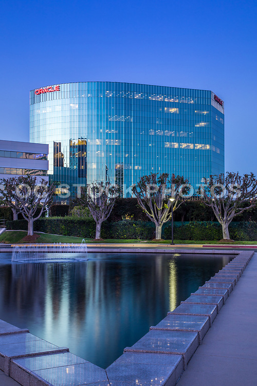 The Oracle Building At The Irvine Business Complex