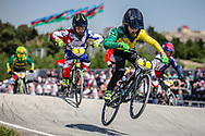 10 Boys #3 (GATT Cameron) AUS at the 2018 UCI BMX World Championships in Baku, Azerbaijan.