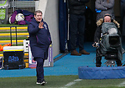 Matt Beard of West Ham United Women (Manager) gestures during the FA Women's Super League match between Manchester City Women and West Ham United Women at the Sport City Academy Stadium, Manchester, United Kingdom on 17 November 2019.