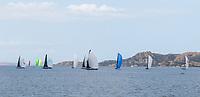The fleet of the Rolex Maxi Cup 2017, Costa Smeralda, Porto Cervo Yacht Club Costa Smeralda (YCCS), Sardinia, Italy.