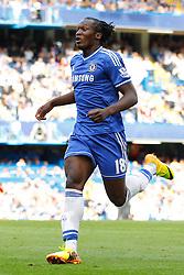 Chelsea's Romelu Lukaku running  - Photo mandatory by-line: Mitchell Gunn/JMP - Tel: Mobile: 07966 386802 18/08/2013 - SPORT - FOOTBALL - Stamford Bridge - London -  Chelsea v Hull City - Barclays Premier League