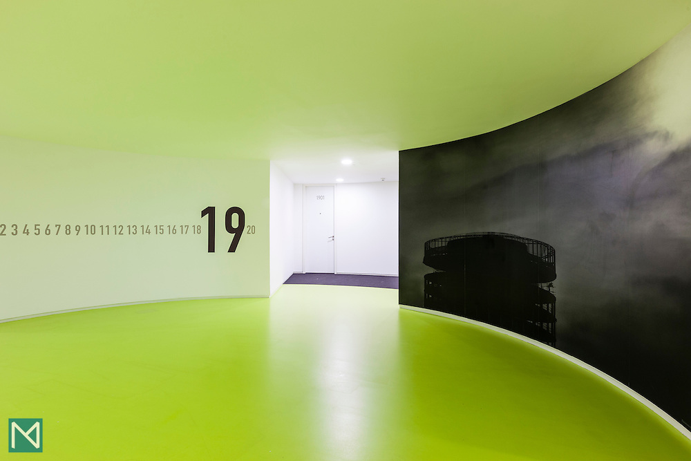 The 19th floor atrium at Staying Cool Apartments in the Rotunda, Birmingham, for HotelTonight