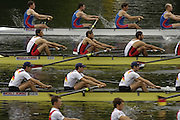 2006 FISA World Cup, Lucerne, SWITZERLAND, 07.07.2006. Lightweight men's Four, Heat two.  Photo  Peter Spurrier/Intersport Images email images@intersport-images.com.[Friday Morning]....[Mandatory Credit Peter Spurrier/Intersport Images... Rowing Course, Lake Rottsee, Lucerne, SWITZERLAND.