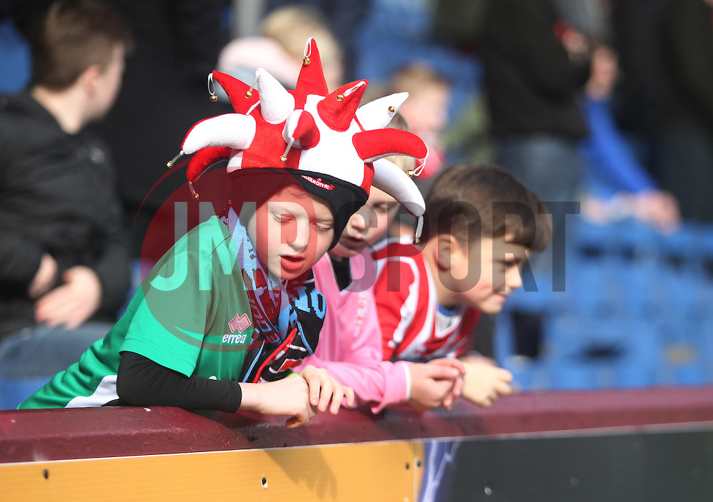 Lincoln City fans - Mandatory by-line: Jack Phillips/JMP - 18/02/2017 - FOOTBALL - Turf Moor - Burnley, England - Burnley v Lincoln City - FA Cup Fifth Round