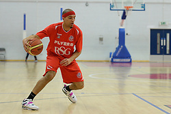 Greg Streete of Bristol Flyers- Photo mandatory by-line: Alex James/JMP - Mobile: 07966 386802 - 28/03/2015 - SPORT - Basketball - Bristol - SGS Wise Campus - Bristol Flyers v London Lions - British Basketball League