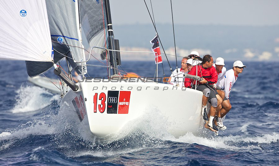 30 th copa del rey,Palma de Mallorca , Melges 32 race,Spain ©jrenedo