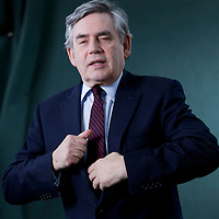 Gordon Brown, former Prime Minister, Leader of Labour Party, MP and now author, at the Edinburgh International Book Festival 2015.<br /> Edinburgh. 30th August 2015<br /> <br /> Photograph by Gary Doak/Writer Pictures<br /> <br /> WORLD RIGHTS