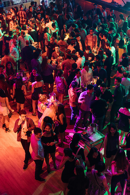 Popular nightclubs Valkyrie, The Palace and The Pool, all in one building in Makati, part of Metro Manila, Philippines, fills up with foreigners and locals at midnight. If a table orders a bottle, waitresses dance it over while a flares shoot out from the bottle top.