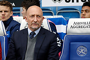 Queens Park Rangers head coach Ian Holloway during the EFL Sky Bet Championship match between Queens Park Rangers and Birmingham City at the Loftus Road Stadium, London, England on 28 April 2018. Picture by Andy Walter.