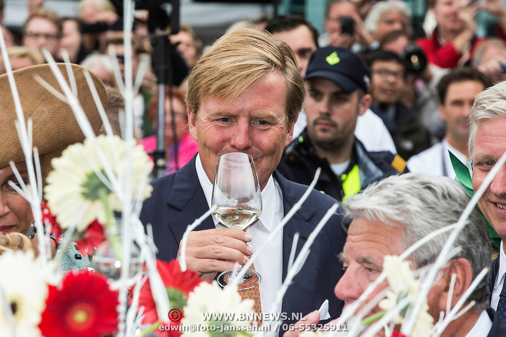 NLD/Maastricht/20140830 - Festivities on the occasion of the 200th jubilee of the Kingdom of the Netherlands in Maastricht - 200 Jaar Koninkrijk der Nederlanden, King Willem-Alexander