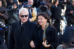 © Licensed to London News Pictures. 12/10/2012. LONDON, UK. Actress Tracey Ullman is seen arriving at the memorial service for hairdresser Vidal Sassoon at St Paul's Cathedral in London today (12/10/12) . Photo credit: Matt Cetti-Roberts/LNP