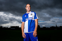 Mark McChrystal of Bristol Rovers poses during a portrait session ahead of the 2015/16 Sky Bet League Two campaign - Mandatory byline: Rogan Thomson/JMP - 07966 386802 - 03/08/2015 - FOOTBALL - The Lawns Training Ground - Bristol, England - Sky Bet League Two.