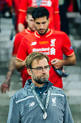 18.05.2016, St. Jakob Park, Basel, SUI, UEFA EL, FC Liverpool vs Sevilla FC, Finale, im Bild entäuscht Trainer Juergen Klopp (FC Liverpool), Emre Can (FC Liverpool) // Trainer Juergen Klopp (FC Liverpool) Emre Can (FC Liverpool) disappointed during the Final Match of the UEFA Europaleague between FC Liverpool and Sevilla FC at the St. Jakob Park in Basel, Switzerland on 2016/05/18. EXPA Pictures © 2016, PhotoCredit: EXPA/ JFK