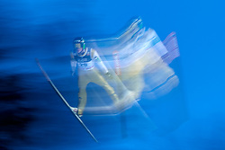 Poland, Zakopane - 2018 January 28: Anze Semenic from Slovenia soars through the air 18th World Cup Competition Men's HS140 Large Hill Individual during FIS Ski Jumping World Cup Zakopane 2017/2018 - Day 3 at Wielka Krokiew jumping hill on January 28, 2018 in Zakopane, Poland.<br /> <br /> Mandatory credit:<br /> Photo by &copy; Adam Nurkiewicz<br /> <br /> Adam Nurkiewicz declares that he has no rights to the image of people at the photographs of his authorship.<br /> <br /> Picture also available in RAW (NEF) or TIFF format on special request.<br /> <br /> Any editorial, commercial or promotional use requires written permission from the author of image.