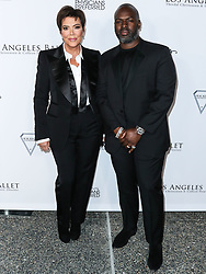 SANTA MONICA, LOS ANGELES, CALIFORNIA, USA - FEBRUARY 28: Los Angeles Ballet Gala 2020 held at The Eli and Edythe Broad Stage at the Santa Monica College Performing Arts Center on February 28, 2020 in Santa Monica, Los Angeles, California, United States. 28 Feb 2020 Pictured: Kris Jenner, Corey Gamble. Photo credit: Xavier Collin/Image Press Agency/MEGA TheMegaAgency.com +1 888 505 6342