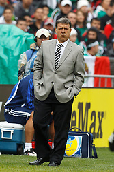 March 26, 2011; Oakland, CA, USA;  Paraguay head coach Gerardo Martino on the sidelines against Mexico during the first half at Oakland-Alameda County Coliseum. Mexico defeated Paraguay 3-1.