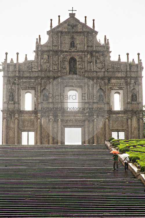 Ruins of St. Paul's Macau.