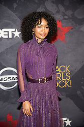 August 6, 2017 - New Jersey, U.S - YARA SHAHIDI, at the Black Girls Rock 2017 red carpet. Black Girls Rock 2017 was held at the New Jersey Performing Arts Center in Newark New Jersey. (Credit Image: © Ricky Fitchett via ZUMA Wire)