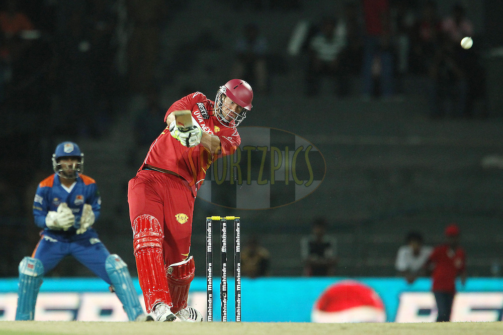 Jacob Oram during match 21 of the Sri Lankan Premier League between Uva Next and Nagenahiras held at the Premadasa Stadium in Colombo, Sri Lanka on the 27th August 2012. .Photo by Ron Gaunt/SPORTZPICS/SLPL