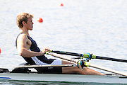 Eton, United Kingdom.  Rob JONES, competing in the Men's Lightweight Single Sculls  Sat. time trial.  2011 GBRowing Trials, Dorney Lake. Saturday  16/04/2011  [Mandatory Credit; Peter Spurrier/Intersport-images] Venue For 2012 Olympic Regatta and Flat Water Canoe events.