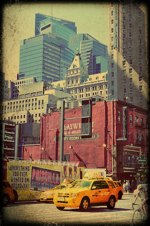 Cabs in New-York.