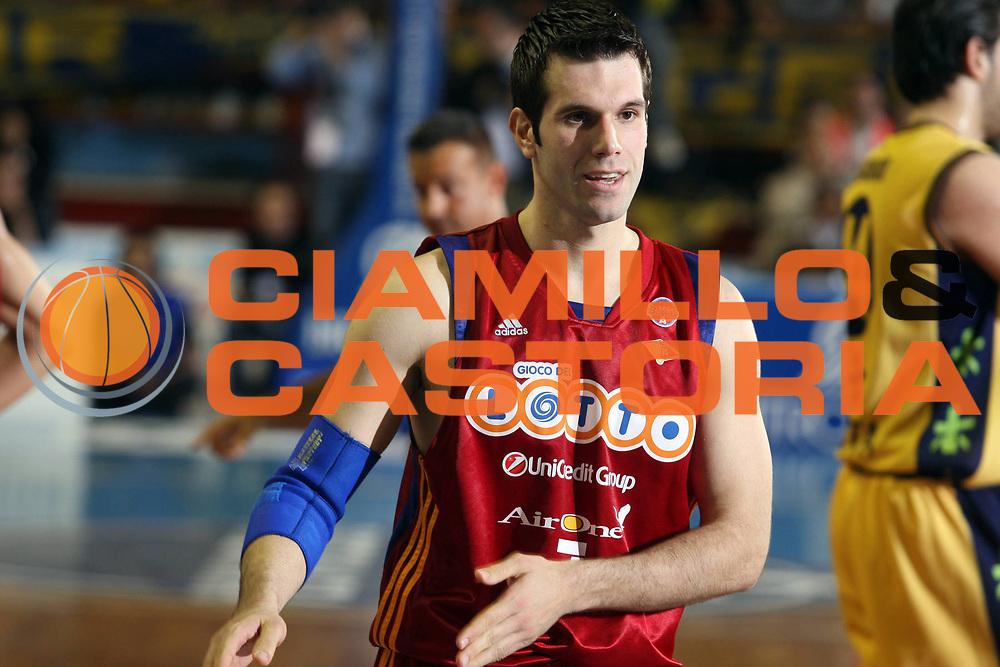 DESCRIZIONE : Porto San Giorgio Lega A 2008-09 Premiata Montegranaro Lottomatica Virtus Roma<br /> GIOCATORE : Sani Becirovic <br /> SQUADRA : Lottomatica Virtus Roma<br /> EVENTO : Campionato Lega A 2008-2009<br /> GARA : Premiata Montegranaro Lottomatica Virtus Roma<br /> DATA : 19/04/2009<br /> CATEGORIA : Curiosita<br /> SPORT : Pallacanestro<br /> AUTORE : Agenzia Ciamillo-Castoria/G.Ciamillo