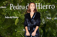 Isabel Preysler attended 'Pedro is Back', Pedro del Hierro fashion show during Mercedes Fashion Week at Museo del Ferrocarril on January 24, 2018 in Madrid