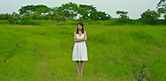 The beautiful Pacific Coast of Buenaventura hosts the new Bristol Hotel, immerses the visitor in an enchanting setting nestled between lush vegetation, lakes and the deep-blue waters of the Pacific Coast of Panama. The ultimate destination to discover a luxurious paradise. Pictured: Photo of a young woman.