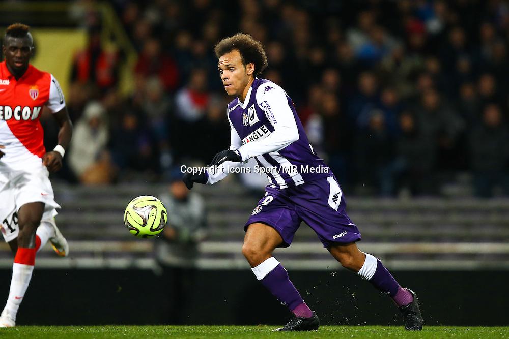 Martin Braithwaite - 05.12.2014 - Toulouse / Monaco - 17eme journee de Ligue 1 -<br />Photo : Manuel Blondeau / Icon Sport