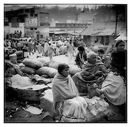 Toda Tribal women in Ooty's market, Tamil Nadu.