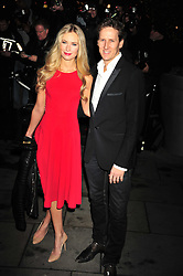© Licensed to London News Pictures. 14/12/2011. London, England. Zoe and Brendan Cole attends the English National Ballet: The Nutcracker - Christmas Performance in St Martins London .  Photo credit : ALAN ROXBOROUGH/LNP