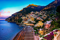 """The dawn awakens the flowers in Positano""…<br />