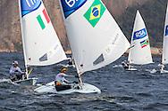 2016 Olympic Sailing Games-Rio-Brazil, ANP Copyright Olympische Spelen Zeilen, ls-BRA- Robert Scheidt- Laser Standaard