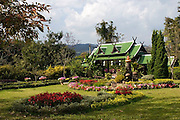 A beautiful small hotel in the hills surrounding Pai, Thailand.