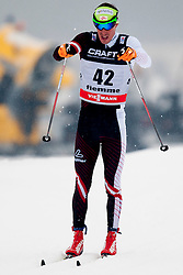 Johannes Duerr of Austria during mens 10km Classic individual start of the Tour de Ski 2014 of the FIS cross country World cup on January 4th, 2014 in Cross Country Centre Lago di Tesero, Val di Fiemme, Italy. (Photo by Urban Urbanc / Sportida)