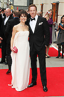 Damian Lewis; Helen McCrory, The Laurence Olivier Awards, Royal Opera House London UK, 28 April 2013, (Photo by Richard Goldschmidt)