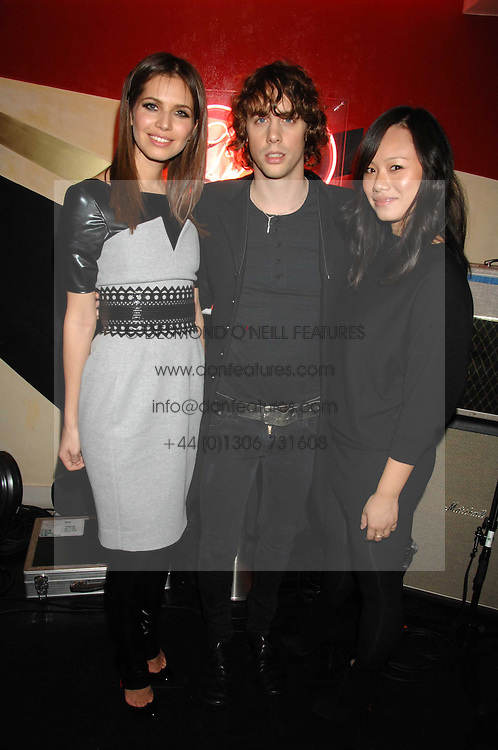 Left to right, DASHA ZHUKOVA, JOHNNY BORRELL and CHRISTINA TANG at a party to celebrate the launch of the Kova &amp; T fashion label and to re-launch the Harvey Nichols Fifth Floor Bar, held at harvey Nichols, Knightsbridge, London on 22nd November 2007.<br />