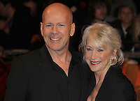 Bruce Willis; Helen Mirren Red UK Premiere, Royal Festival Hall, Southbank, London, UK, 19 October 2010: For piQtured Sales contact: Ian@Piqtured.com +44(0)791 626 2580 (picture by Richard Goldschmidt)