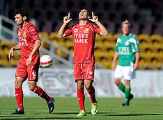 20090808 FC Nordsjælland - Silkeborg IF SAS Liga fodbold