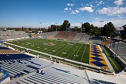September 24, 2011; San Jose, CA, USA; General view of Spartan Stadium before the game between the San Jose State Spartans and the New Mexico State Aggies.