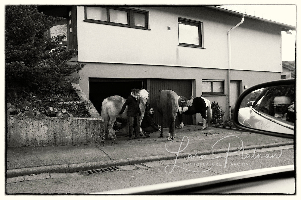 Aston Martin & Leica Roadtrip horse power filling station