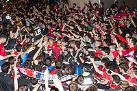 Osasuna's players during the celebration for promotion to La Liga BBVA . 19,06,2016. (ALTERPHOTOS/Rodrigo Jimenez)
