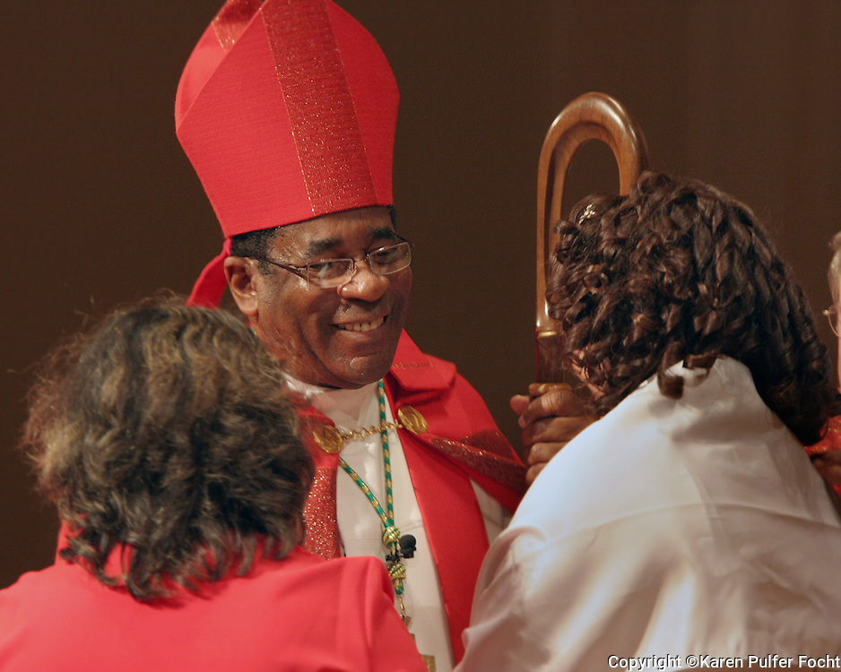 Bishop Terry Steib of Memphis, Tennessee.