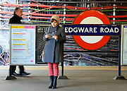 Edgeware Road Platform Wired and Wireless
