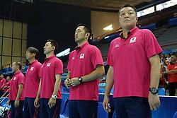Japan coach Manabe Masayoshi
