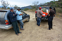 Demonstrating Sawyer water filter in La Higuera, Santa Cruz, Bolivia
