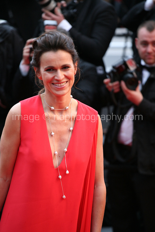 Aurelie Filippetti at the red carpet for the gala screening of Jimmy P. Psychotherapy of a Plains Indian film at the Cannes Film Festival 18th May 2013
